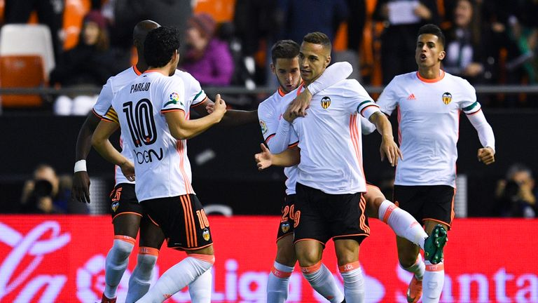 Valencia currently sit four points above the La Liga relegation places