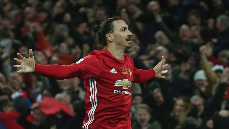Vidic hopes Zlatan Ibrahimovic can continue to perform for Man Utd next season