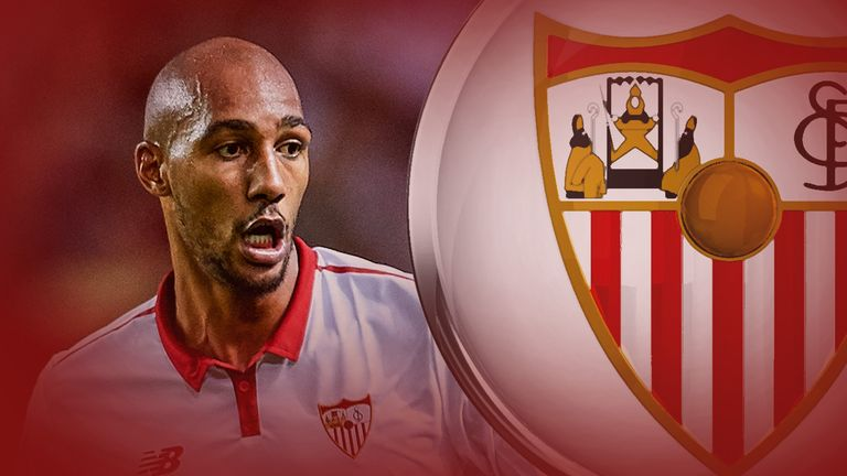 Sevilla midfielder Steven N'Zonzi has been in brilliant form this season in La Liga