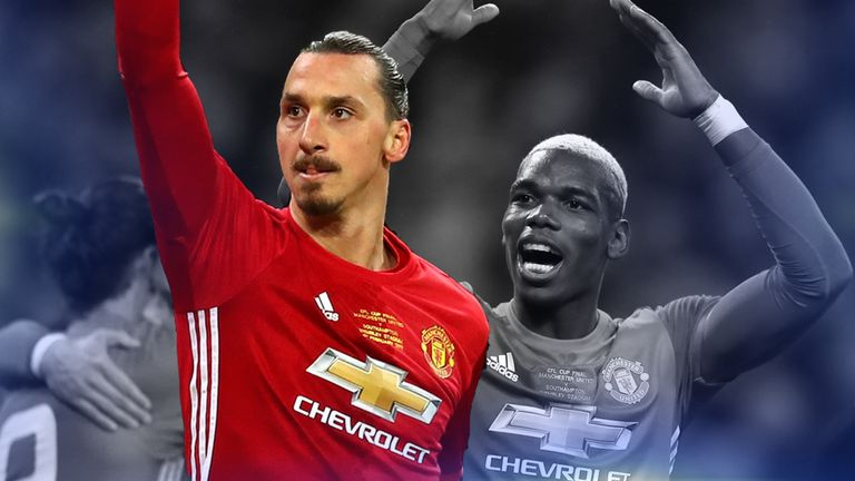 Zlatan Ibrahimovic was instrumental in Manchester United's 3-2 Wembley win