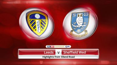 Leeds 1-0 Sheff Wed