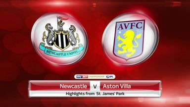 Newcastle 2-0 Aston Villa