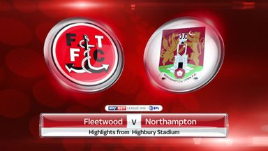 Fleetwood 3-0 Northampton