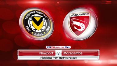 Newport 1-1 Morecambe