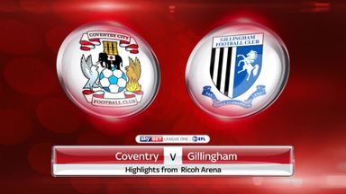 Coventry 2-1 Gillingham