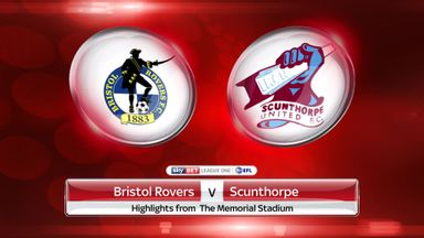 Bristol Rovers 1-1 Scunthorpe