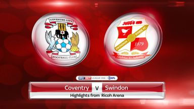 Coventry 1-3 Swindon