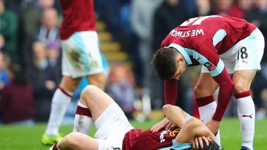 Ashley Westwood, helping Joey Barton, says Burnley must get back on their feet