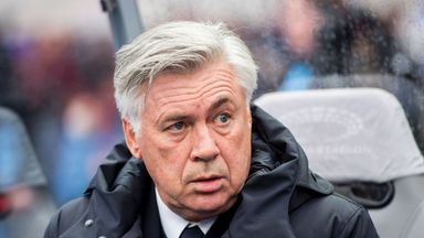 Carlo Ancelotti will not face a suspension over his gesture at Hertha Berlin supporters