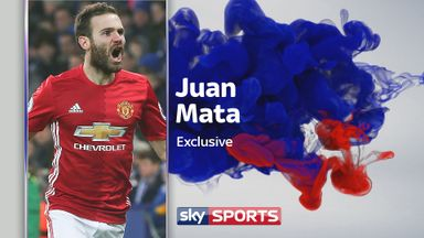 Juan Mata spoke exclusively to Sky Sports