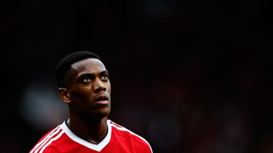 Anthony Martial insists he is happy to remain with Manchester United