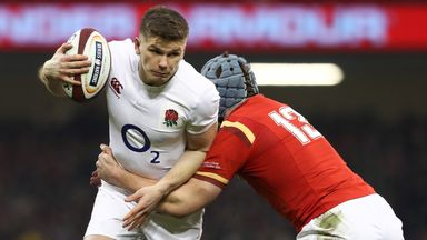 Owen Farrell has been tipped by Sir Clive Woodward to go on and match the feats of Jonny Wilkinson