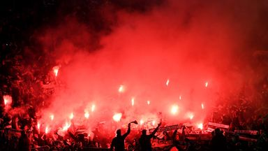 St-Etienne are facing a fine for their fans' behaviour at Old Trafford