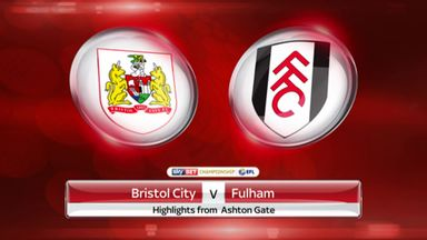 Bristol City 0-2 Fulham