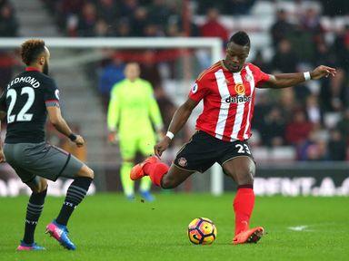 Lamine Kone in action for Sunderland