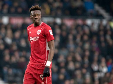 Tammy Abraham sustained a thigh problem in last week's defeat at Leeds