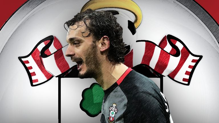 Southampton forward Manolo Gabbiadini has made an instant impact