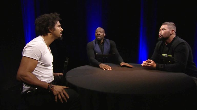 The Gloves Are Off - David Haye and Tony Bellew