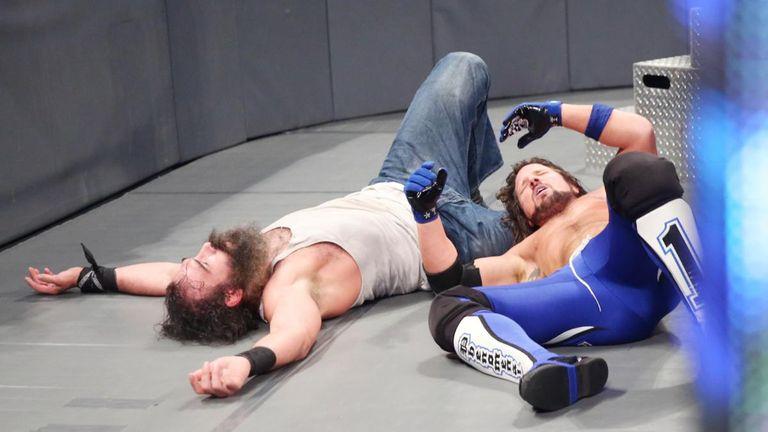 Luke Harper and AJ Styles