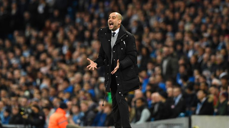 Pep Guardiola says his side must score in Monaco in the second leg