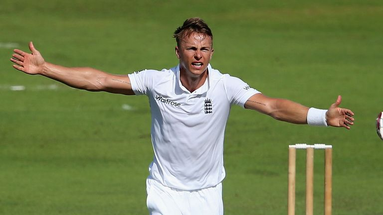Tom Curran (3-35) did the early damage for England Lions