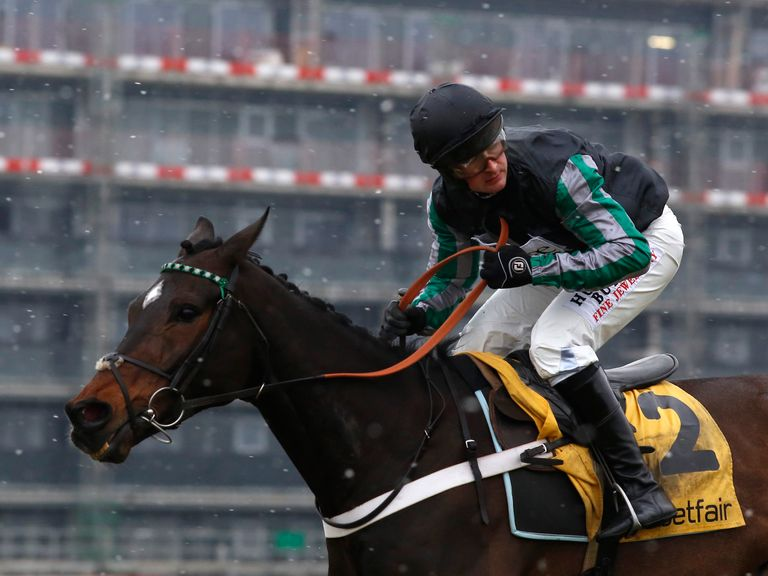 Altior: Could clash with Douvan in the Tingle Creek next season?