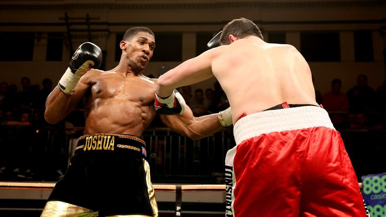 Anthony Joshua has a 100 per cent KO ration so far