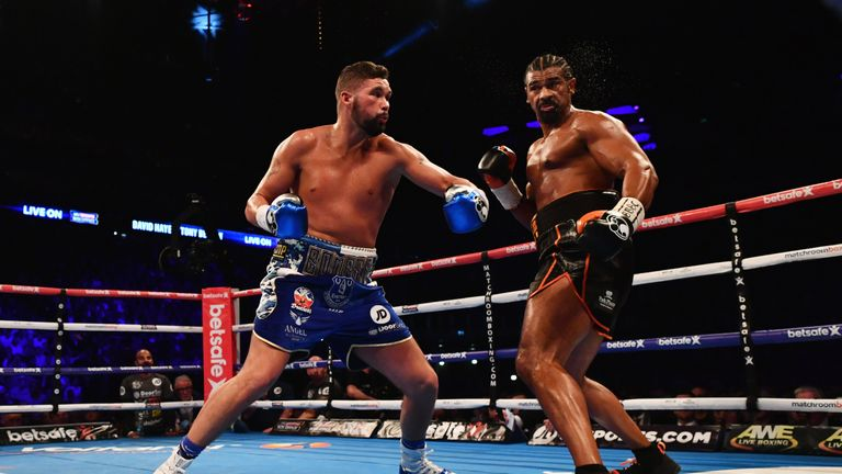 Bellew defeated David Haye at The O2