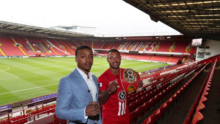 Kell Brook and Errol Spence Jr will be live on Sky Sports Box Office