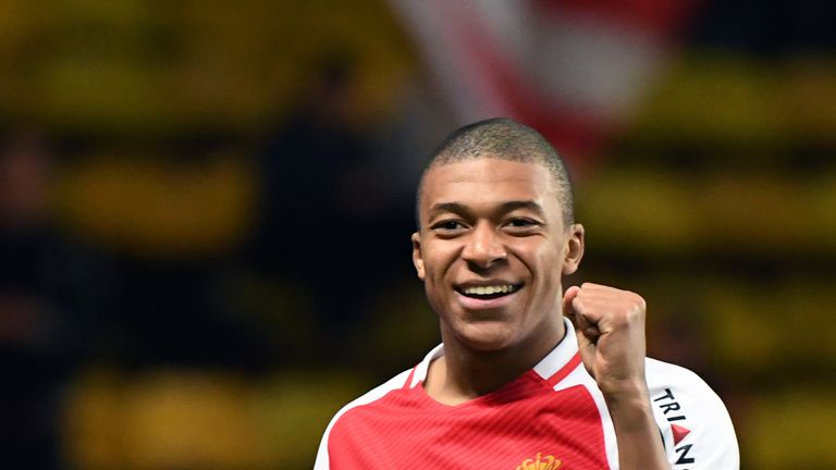 Kylian Mbappe is one of the hottest prospects in world football