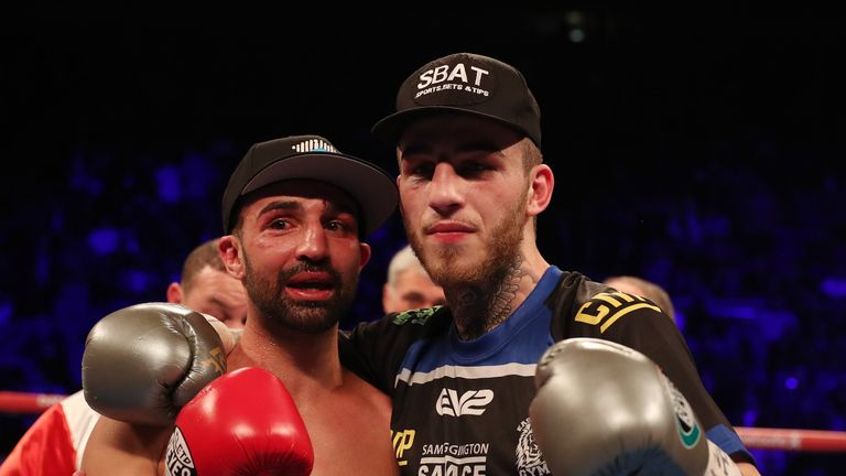Sam Eggington stopped Paulie Malignaggi in the eighth round in March