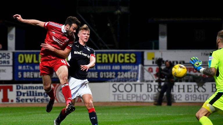 Considine scores the fourth for Aberdeen