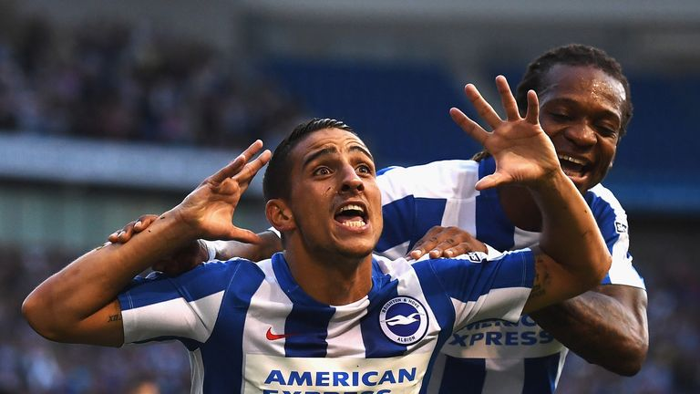 Anthony Knockaert of Brighton is the Sky Bet Championship Player of the Season for 2016/17