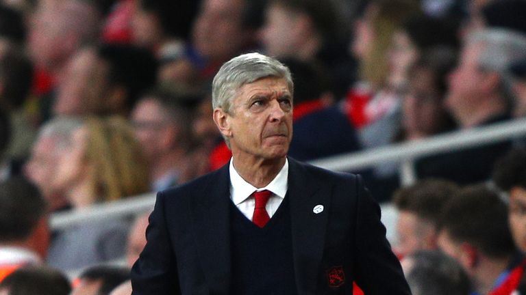 Arsene Wenger has seen Arsenal lose six of their last nine