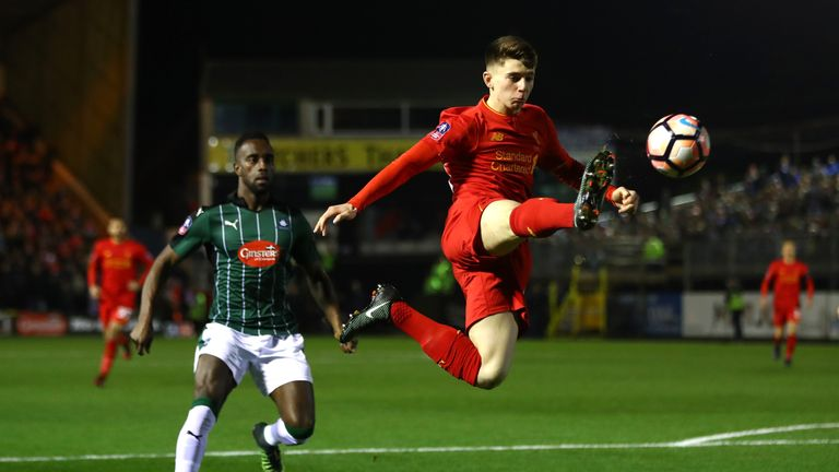 Nottingham-born Ben Woodburn will link up with Wales squad for the first-time this week