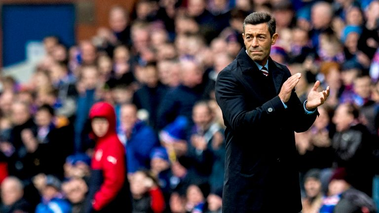 Pedro Caixinha has been delighted with his players' attitude since joining