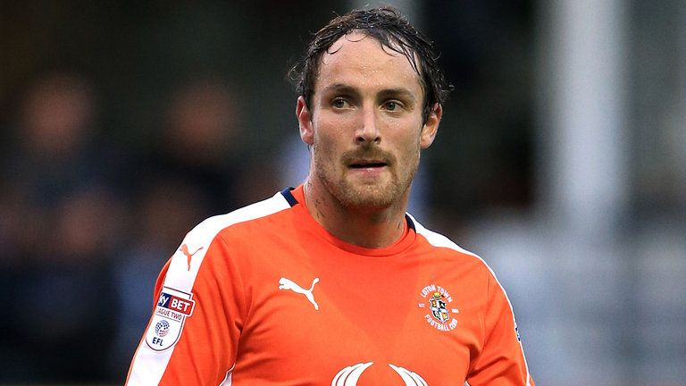 Luton's Danny Hylton is up for the League Two prize