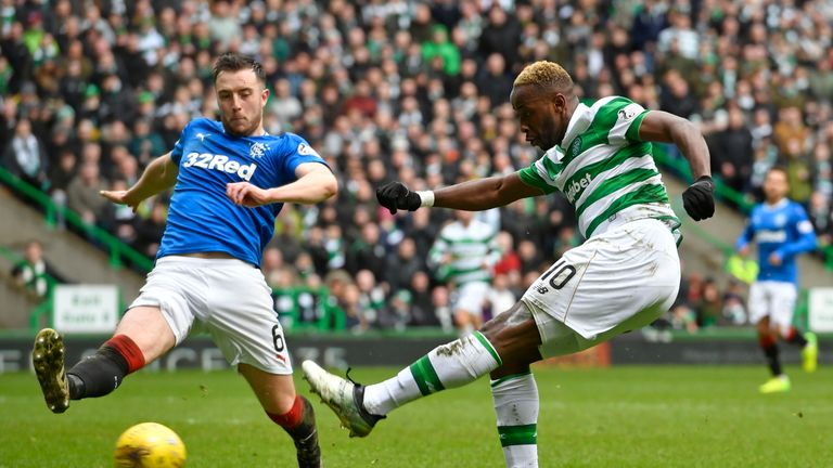 Danny Wilson played as Rangers drew 1-1 with Celtic on Sunday