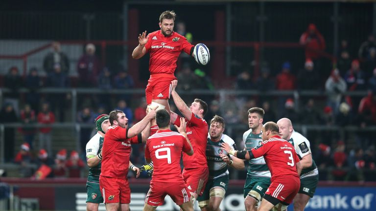 Dave Foley (pictured), along with Jean Kleyn, have been ruled out of the rest of Munster's season