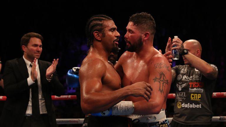 david haye latest fight