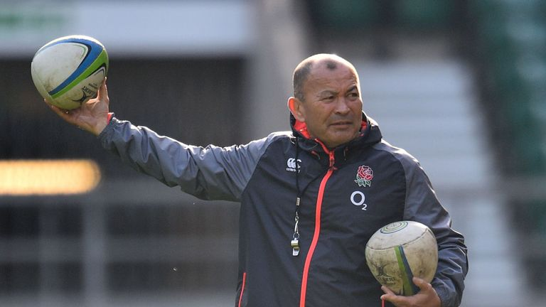 Eddie Jones has made changes to his coaching set-up