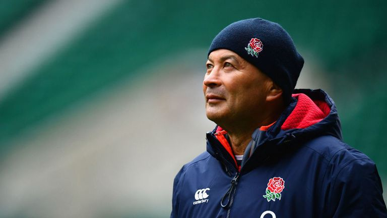 Eddie Jones suffered his first defeat as England head coach