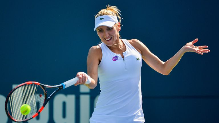 Vesnina booked her passage to the last four by defeating veteran Venus Williams