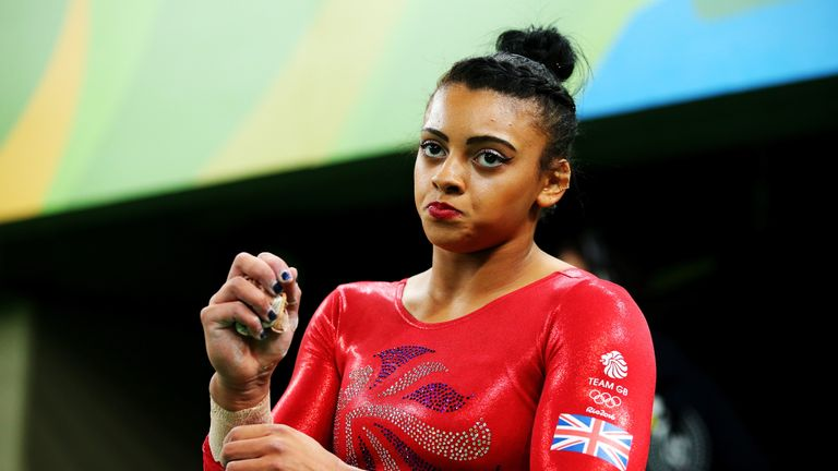 Ellie Downie beat Claudia Fragapane and Amy Tinkler to win her first British title