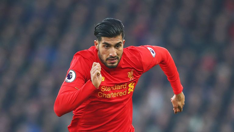 Emre Can is being watched by Juventus, according to the Italian press