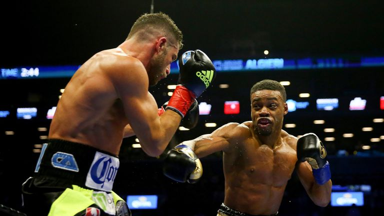 Errol Spence Jr has earned a shot at Brook's world title after 21 victories
