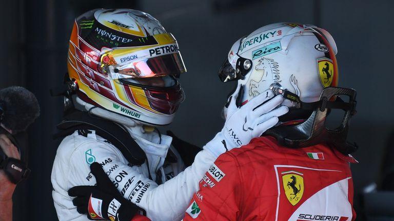 Australian GP: Sebastian Vettel beats Lewis Hamilton to ...