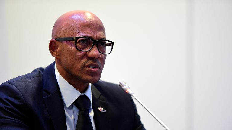 Frankie Fredericks steps down as International Olympic Committee commission chair amid corrution scandal