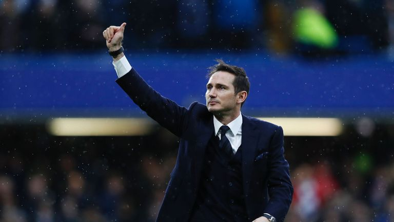 Frank Lampard says becoming Chelsea manager would be a dream
