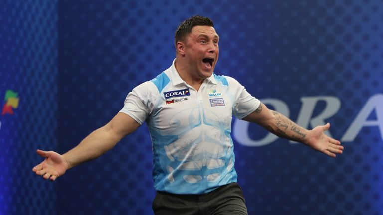 Gerwyn Price took home £35,000 as runner-up (Pic courtesy of Lawrence Lustig)